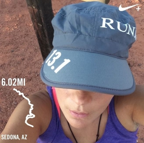 women's running cap for sweat absorption