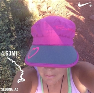 ultimate women's running cap