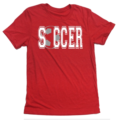 Soccer Tee Shirt - High School - For Teen Soccer Players
