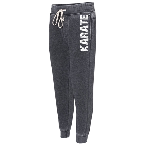 Gray Karate Joggers - The Perfect Everyday Classic Joggers for Athletic Teens and Men
