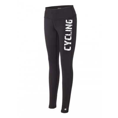 Cycling legging tights black running