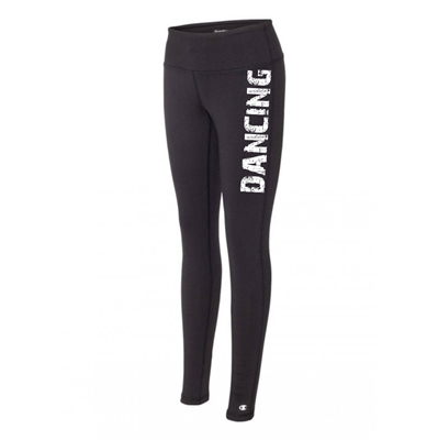 running legging tights black running