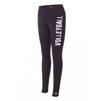 volleyball legging tights black running