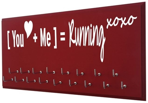 running medals holder : the mathematic of running