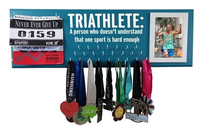 TRIATHLETE definition - medal holder
