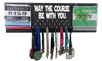 Star wars medal hanger rack - may the course be with you