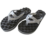 walk recovery sandals with arch support and acupressure point massaging flip-flops