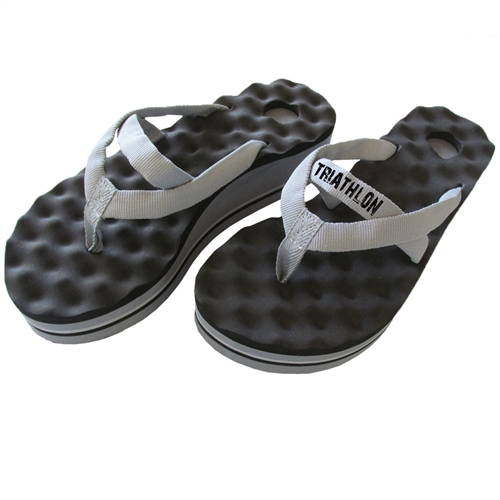 Post-Workout Recovery Sandals with High Arch and Reflexology Massaging Flip-Flops. walk recovery sandals with arch support and acupressure point massaging flip-flops