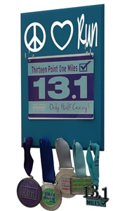 display for your race bibs with mantra