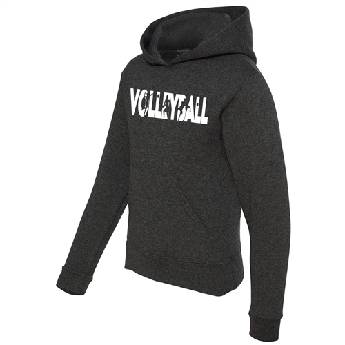 Volleyball Hoodie - Athletic Sweatshirt for Teen Volleyball Players