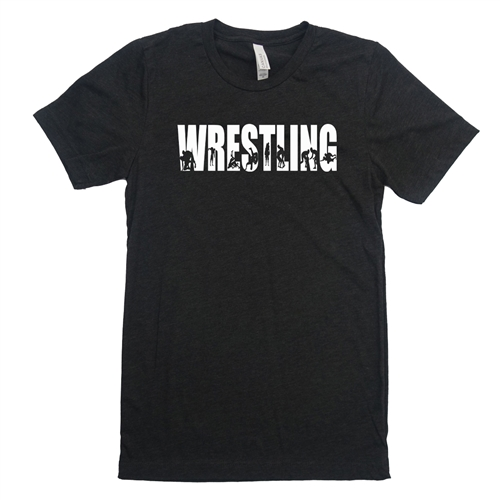 Wrestling Tee Shirt -  Never Settle For Less Than Your Best - For Teen Wrestlers