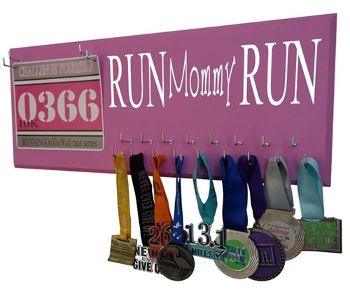 Run mommy run - medal hanger