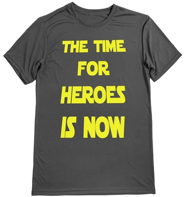 The time for hero-running tee