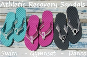 athletic recovery sandals