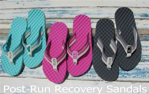 runner recovery sandals