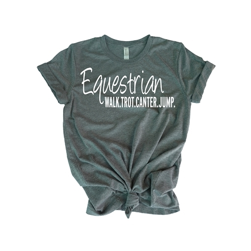 Equestrian Tee Shirt - For Teen Equestrians