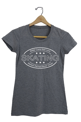 Skating T-Shirt for Boys and Girls