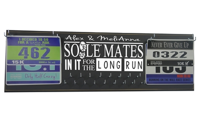 SOUL MATES sole- IN IT FOR THE LONG RUN valentine race running
