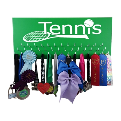 Tennis - Medal display rack