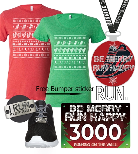 ugly sweater run virtual 5k Christmas