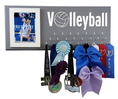 VOLLEYBALL holder display hanger MEDALS