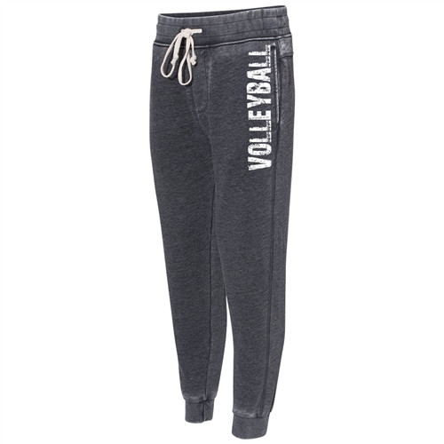 Gray Volleyball Joggers - The Perfect Everyday Classic Joggers for Athletic Teens and Men