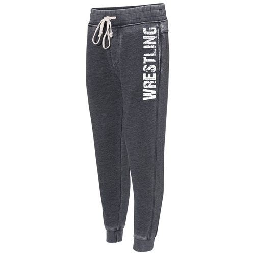 Gray Wrestling Joggers - The Perfect Everyday Classic Joggers for Athletic Teens and Men