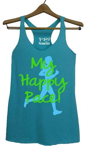 Running Tank Top - My Happy Pace