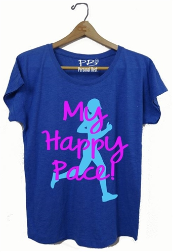 Women's Slimming t shirt - My Happy Pace