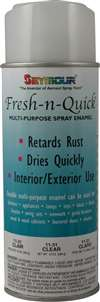 SEYMOUR PAINT Paint - Fresh-N-Quick - Enamel - Clear - 10.00 oz Aerosol - Each # 11628
