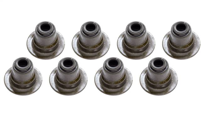 GM PERFORMANCE PARTS Valve Stem Seal - 5/16 in Valve Stem - 0.500 Guide OD - Viton - Set of 8 # 12482063