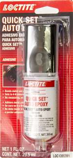 LOCTITE 2 Part Epoxy - Quick Set - 0.85 oz Syringe - Each # 1395391