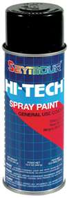 SEYMOUR PAINT Paint - HI TECH - Alkyd Enamel - Black - 16.00 oz Aerosol - Each # 16-115
