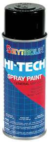 SEYMOUR PAINT Paint - HI TECH - Alkyd Enamel - Semi-Gloss Black - 16.00 oz Aerosol - Each # 16-139