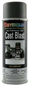 SEYMOUR PAINT Paint - HOT SPOT - High Temperature - Silicone - Cast Iron - 16.00 oz Aerosol - Each # 16-2668