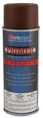 SEYMOUR PAINT Primer - HI TECH - Phenolic Resin - Red Oxide - 16.00 oz Aerosol - Each # 16-807