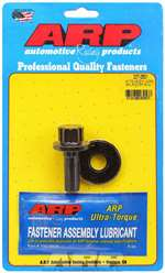 ARP Harmonic Balancer Bolt - 14 mm x 1.50 Thread 1.525 in Long - 19 mm 12 Point Head - Washer Included - Chromoly - Black Oxide - Mitsubishi 4G63 - Each # 207-2501
