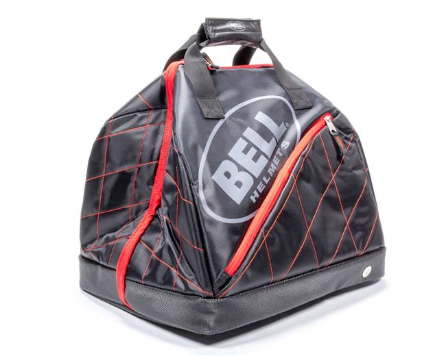 BELL HELMETS Gear Bag - Victory R1 - Zipper Closure - Fleece Lined - Nylon - Black - Each # 2120013