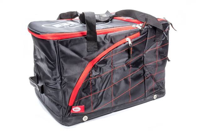 BELL HELMETS Gear Bag - HANS Pro V.2 - Zipper Closure - Fleece Lined - Nylon - Black - Each # 2120014