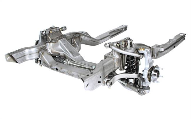 DETROIT SPEED ENGINEERING Front Subframe - Hydroformed - Front Suspension - Steel - Natural - Big Block - GM F-Body 1967-69 / GM X-Body 1968-74 - Kit # 32002