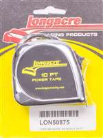 LONGACRE Tape Measure - 10 ft Length - 3/4 in Width - Inch / Centimeter - Each # 52-50875
