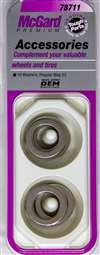 MCGARD Wheel Washer - 0.693 in ID - 1.060 in OD - Stainless Natural - Universal - Set of 10 # 78711