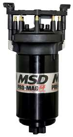 MSD IGNITION Ignition Magneto - Pro Mag 44 - Magnetic Pickup - 26 Degree Spark Duration - 50000V - HEI Style - Black - Clockwise - Universal - Each # 81307