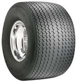 MICKEY THOMPSON Tire - Sportsman Pro - 33.0 x 19.5-15 - Bias-Ply - 2050 lb Max Load - DOT Approved - Black Sidewall - Each # 90000000214