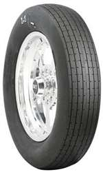 MICKEY THOMPSON Tire - ET Front - 25.0 x 4.5-15 - Bias-Ply - White Letter Sidewall - Each # 90000000815