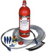 STROUD SAFETY Fire Suppression System - FE-36 - 10.0 lb Bottle - Fittings / Hose / Mount / Pull Cable - Kit # 9352