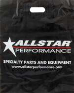 ALLSTAR PERFORMANCE Plastic Bag - Allstar Logo - 18 x 14-1/2 in - Plastic - Black - Set of 100 # ALL048