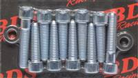 BLOWER DRIVE SERVICE Supercharger Bolt - Allen Head - 2.650 in Long - Steel - Cadmium - Set of 10 # BA-9601