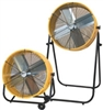 "Ventamatic MaxxAir Portable Air Circulator 24"" Direct Drive Tilt Fan - 2 Spd Totally Enclosed # BF24TFYELTE"
