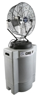 "Ventamatic Cool Draft 18"" Mid-Pressure Misting Fan with 40 gal Tank # CDMP1840GRY"
